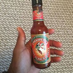 Dating advise from @blazethelion ・・・ Ladies: If you want to KEEP or  GET a Jamaican man...Get a mini size of this & keep in your purse. #dating101 #tryingtohelp #tips #jamaicanmen #cultureshock #hotsauce #realhotsauce  #pickapeppa #peaceandlove #repost #customerpic