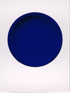 Disque Bleu // Yves Klein.