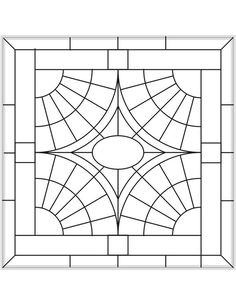 ★ Stained Glass Patterns for FREE ★ glass pattern 662 ★