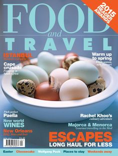 April 2015 - Perfect paellas, secret cheesecake's recipes, Turkish delights,... www.foodandtravel.com