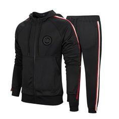 New MANTORS Men's Hooded Athletic Tracksuit Full Zip Casual Jogging Gym Sweat Suits online - Topproclothing Casual Wear For Men, Sport Casual, Sport Pants, Sport T Shirt, Mens Tracksuit Set, Track Suit Men, Man Set, Blazers For Men, Hooded Sweatshirts