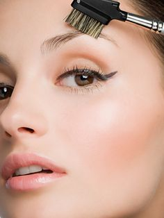 """Let it Gel     """"Brow gels are a great product pick for women with unruly hair,"""" says Nemes. """"Simply apply a clear gel to the entire length of the eyebrow with a brush to prevent curls and stray hairs."""""""