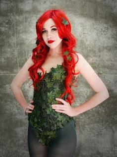 Poison Ivy Cosplay by Paul Streit, via Flickr.   Some more good ideas for my cosplay!