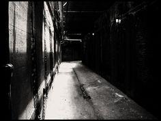 hallway in alcatraz federal prison - cobbetts-eye