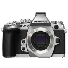 Olympus OM-D E-M1 16MP Silver Body Only @ 15 % Off With FREE INSURANCE + 1 YEAR AUSTRALIAN WARRANTY. Hurry Order Now Stock Limited!!!!