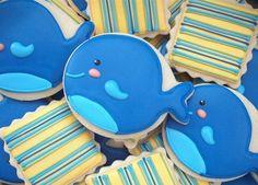小鲸鱼的饼干是要萌死人呐。这微笑太可爱了。【阿团丸子】