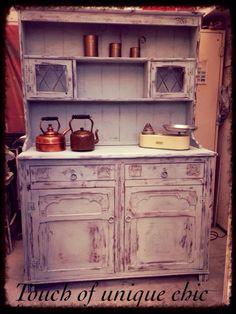 Heavily Distressed Welsh Dresser