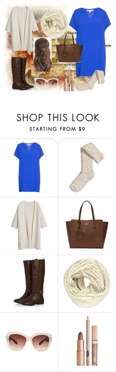 """""""Untitled #80"""" by maca-r-94 ❤ liked on Polyvore featuring Diane Von Furstenberg, H&M, MANGO, Gucci, Forever 21, Eloquii and Lacoste"""