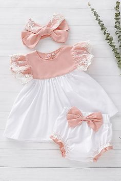 Diy Crafts - dress-baby dress This cute baby Dress suitable for babies from months. Fashion and cute is worth your choice. Now freeshipping ove Cute Baby Dresses, Dresses Kids Girl, Little Girl Outfits, Cute Baby Clothes, Kids Outfits, Dresses For Babies, Baby Girl Dress Patterns, Baby Dress Design, Baby Clothes Patterns