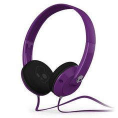Skullcandy Uprock On-Ear Headphones - Purple