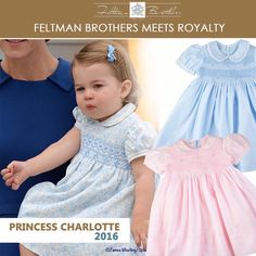 Similar dresses to Princess Charlotte's.