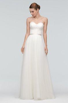 Watters Brides Karington - sweetheart neckline + tulle skirt