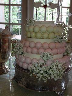 Wedding cake ball cake by TK Cake Pops