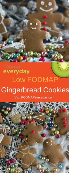 Monash University recently approved molasses as low FODMAP in small quantities - just in time for the holidays! To celebrate, we've whipped up a low FODMAP Gingerbread Cookie recipe to wow all your friends and family!