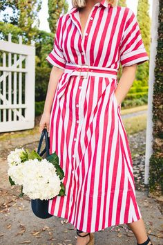 Happy Monday! I'm so excited to share this red & white striped shirtdress from the Tuckernuck Lifestyle Guide with you today. Not only is it adorable, but it's also one of the softest dresses I've ever worn. A note on the fit, it runs large so you'll want to size down.   And as …