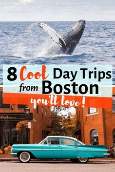 Looking to getaway from Boston for a day? Looking for day trips from Boston to the surrounding beaches, mountains and beyond? Here you have the Top Weekend Trips and Getaways from Boston you'll love. Boston day trips I boston road trips I Beaches in Bosto Travel Blog, Usa Travel Guide, Travel Usa, Travel Guides, Travel Tips, Travel Packing, Travel Advice, Day Trips From Boston, Boston Weekend