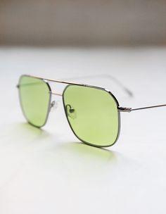 Viveur Sunglasses // Cali Green Pastello on aere-store.com