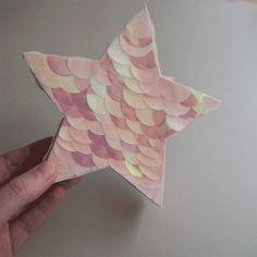 DIY pinata esprit sirène pour la fête des mères – kraft & carat  #DIY #pinata #mermaid #sirene #unicorn #star #etoile #fetedesmeres #anniversaire