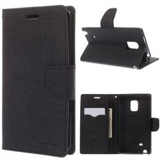 Funda Book Samsung Galaxy Note Edge Mercury Fancy Diary Negra