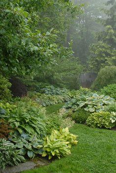 Pocket Garden traditional landscape