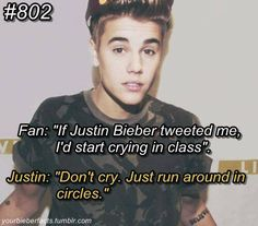 I would do both. I wouldn't even care what people thought! ;).. My Idol Justin means so much to me <3 <3 <3