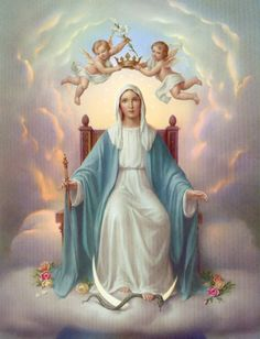 Hail Mary full of Grace. Pray for Us. Amen
