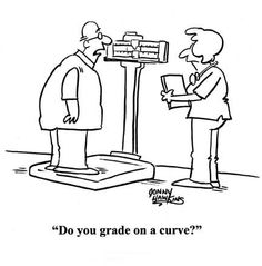 """Do you grade on a curve?"""