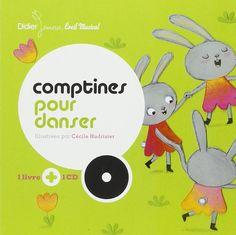 Comptines pour danser - Cécile Hudrisier