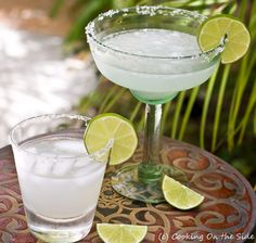 Margaritas, from Cooking on the Side