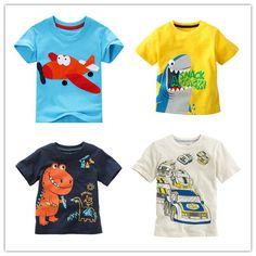 11d655d1368 Дешевое Новое поступление детей футболку мальчиков тройники рубашки с  коротким рукавом летом топы мультфильм мальчик одежда