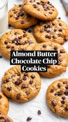 Healthy Cookie Recipes, Healthy Cookies, Sweets Recipes, Healthy Baking, Healthy Desserts, Baking Recipes, Snack Recipes, Healthy Blueberry Recipes, Healthy Sweet Snacks