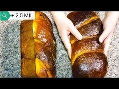 Cozonac cu nucă şi cacao - reţeta pentru începători. Rețeta originală - YouTube My Favorite Food, Favorite Recipes, Pastry And Bakery, Kakao, Something Sweet, Cake Recipes, Cooking Recipes, Yummy Food, Bread