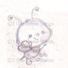 bee sketches | Cute Bumble Bee Sketch - Cute Illustrations by Heidi Schwoerer ...