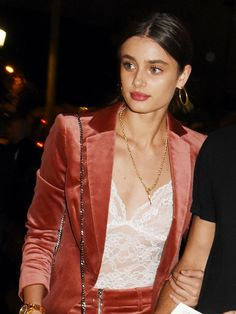 You Need to See These Taylor Hill Outfits—Now via @WhoWhatWear