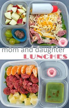Moms! Treat yourself to a made-ahead, yummy lunch too. | packed in @EasyLunchboxes containers