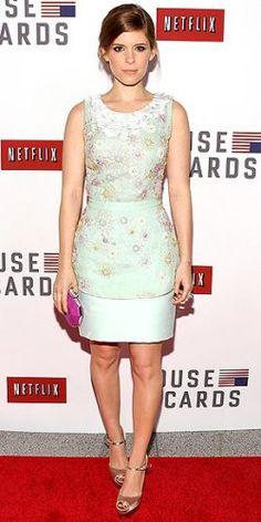 Kate Mara in Peter Som