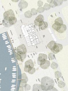 AFGH restaurant schifflände uster is part of Urban design diagram - Architecture Site Plan, Architecture Presentation Board, Architecture Graphics, Architecture Drawings, Architecture Portfolio, Concept Architecture, Presentation Design, Presentation Boards, Architectural Presentation
