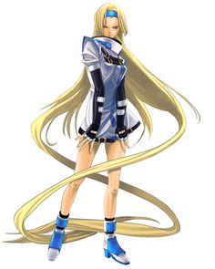 Millia Rage - Character design and Art - Guilty Gear Isuka