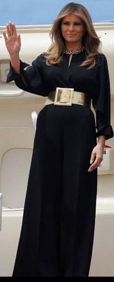 First Lady Melania Trump in Stella McCartney