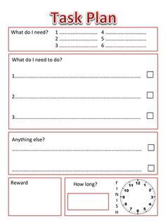 Task Plan for SEN Child