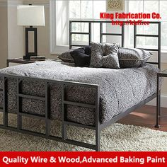 Wrought iron beds double beds 1.8 m 1.5 m 1.2 m bed childred bed