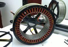 45Kw DC Brushless motor construction