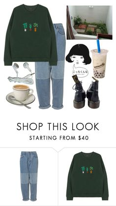 """51"" by ourijimin ❤ liked on Polyvore featuring Dr. Martens"