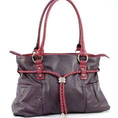 Dasein Tasseled Drawstring Shoulder Bag