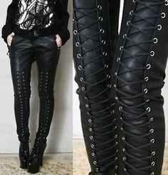 Dark Fashion, Gothic Fashion, 80s Rock Fashion, Metal Fashion, Latex Fashion, Steampunk Fashion, Lolita Fashion, Fashion Pants, Fashion News