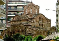 Thessaloniki, Greece Beautiful Buildings, Beautiful Places, Places Ive Been, Places To Go, Macedonia Greece, Thessaloniki, Historical Architecture, Abandoned Mansions, 14th Century
