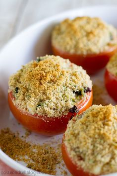 Cheesy Italian Stuffed Tomatoes