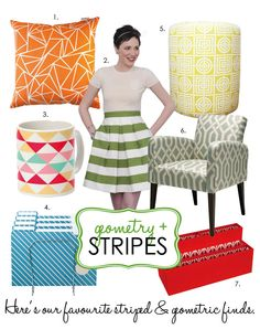 stripes and geometry House And Home Magazine, Color Patterns, Geometry, Stripes, Colours, Texture, Fabric, Blog, Nice