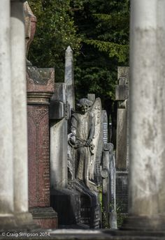 Southern Cemetery, Manchester, England. 9th August 2014.
