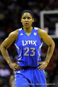 Maya Moore...definitely one of the best WNBA players of all time.